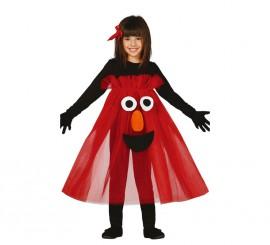 Disfraz de Monstruo tutú rojo