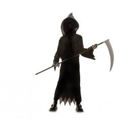 Disfraz de Muerte oscura para niño en varias tallas para Halloween