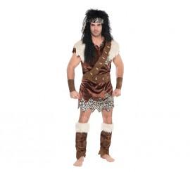 Disfraz de Neanderthal para hombres