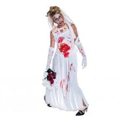 Disfraz de Novia Zombie en varias tallas