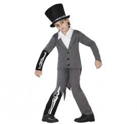 Disfraz de Novio Cadáver para niños en varias tallas para Halloween