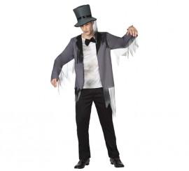 Disfraz de Novio Zombie para hombre en varias tallas para Halloween