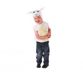 Disfraz de Ovejita para niños de 2 a 3 años