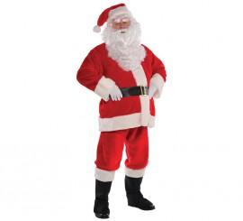 Disfraz de Papá Noel deluxe para hombre en varias tallas para Navidad