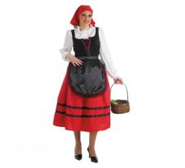 Disfraz de Pastora aldeana para mujer