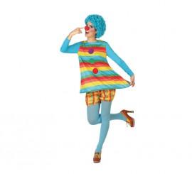 Disfraz de Payasa para mujeres en varias tallas