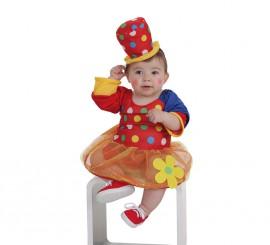 Disfraz de Payasita Pepona para bebé