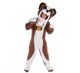 Disfraz de Perro San Bernardo para adultos