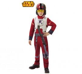 Disfraz de piloto Poe Dameron de Star Wars VII para niño