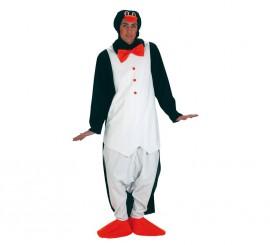 Disfraz de Pingüino elegante para hombre