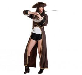 Disfraz de Pirata Corsaria sexy para mujer