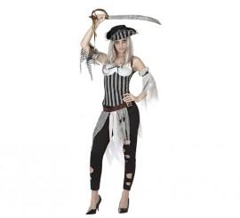 Disfraz de Pirata Muerta para mujer en varias tallas