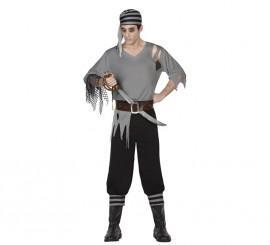 Disfraz de Pirata Muerto para hombres