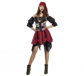 Disfraz de Pirata Saqueadora para mujer
