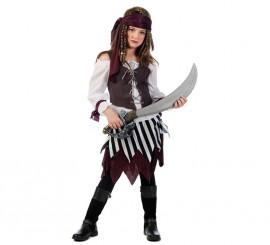 Disfraz de Pirata Talia Deluxe para niña