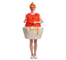 Disfraz de Plato de Espaguetis para hombre