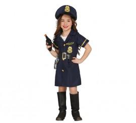 Disfraz de Police Girl en varias tallas