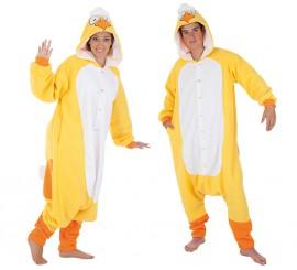 Disfraz de Pollito amarillo para adultos