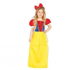 Disfraz de Princesa del Bosque para niña