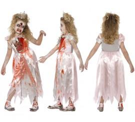 Disfraz de Princesa durmiente Zombie