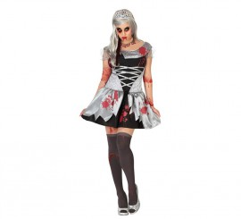 Disfraz de Princesa Muerta para mujer en varias tallas para Halloween