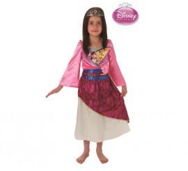 Disfraz de Princesa Mulan para Niña en varias tallas
