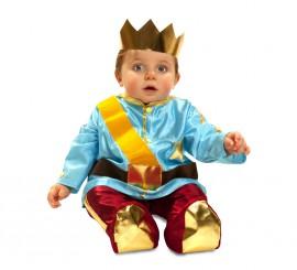 Disfraz de Principito azul para bebé de 6 a 12 meses