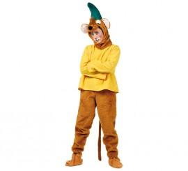 Disfraz de Ratón de cuento amarillo para hombre