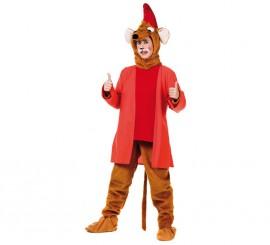 Disfraz de Ratón de cuento rojo para hombre