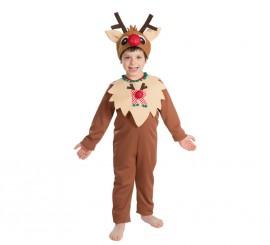 Disfraz de Reno para bebés y niños para Navidad