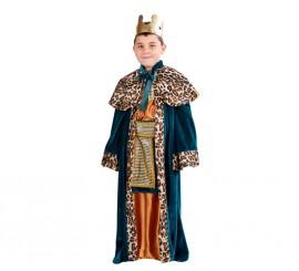 Disfraz de Rey Mago Gaspar para niños