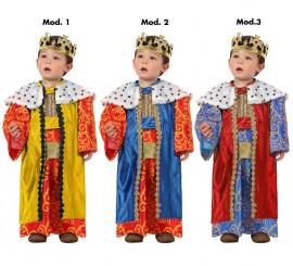 Disfraz de Rey Mago para bebés colores surtidos