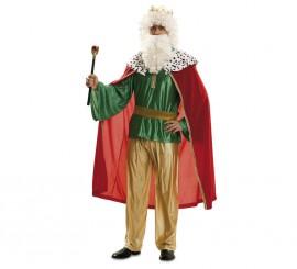Disfraz de Rey Mago rojo en talla M-L