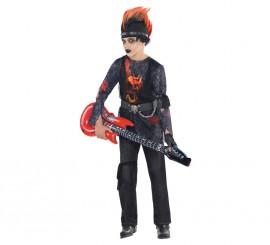 Disfraz Rock Zombie para niños y adolescentes en varias tallas Halloween