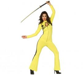 Disfraz de Samurai o Kung-Fu para mujer