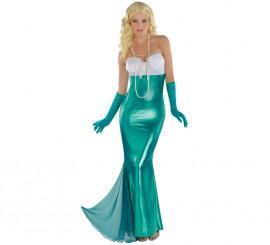 Disfraz de Sirena para mujeres en varias tallas