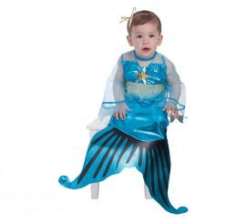 Disfraz de Sirenita para bebé
