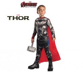 Disfraz de Thor de los Vengadores 2 para niños en varias tallas