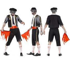 Disfraz de Torero Zombie en varias tallas
