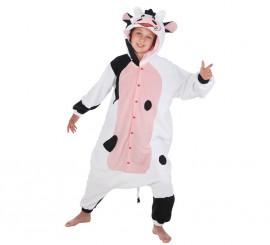 Disfraz de Vaca lechera para niños
