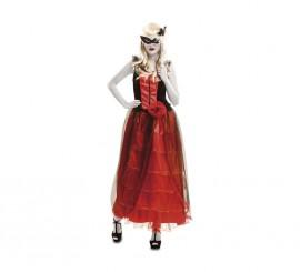 Disfraz de Vampira Barroca para mujer en talla M-L para Halloween