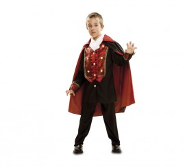 Disfraz de Vampiro Barroco para niños para Halloween