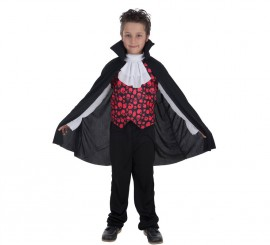 Disfraz de Vampiro Conde Romanov para niño