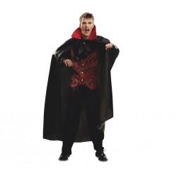Disfraz de Vampiro Deluxe para hombre talla M-L para Halloween