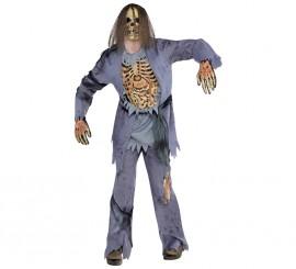 Disfraz de Zombie para hombres en varias tallas Halloween