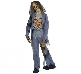 Disfraz de Zombie para niños y adolescentes en varias tallas para Halloween