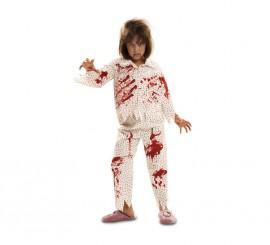 Disfraz de Zombie Sonámbula para niñas en varias tallas de Halloween