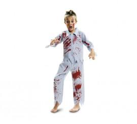 Disfraz de Zombie Sonámbulo para niños en varias tallas de Halloween