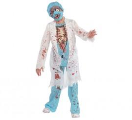 Disfraz Doctor Zombie para niños y adolescentes Halloween