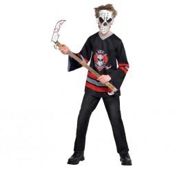Disfraz Hockey mortal para niños y adolescentes en varias tallas Halloween
